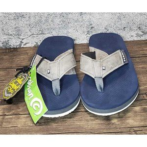 🤶⏬ COBIAN Endless Comfort Flip Flops Tan Men sz 8